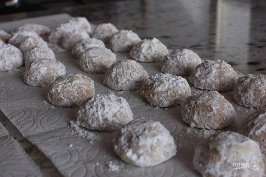 Орехово-песочное печенье