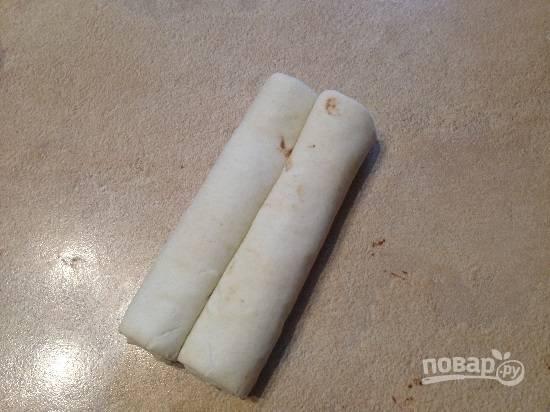 Вот такая получится заготовка для печенья.
