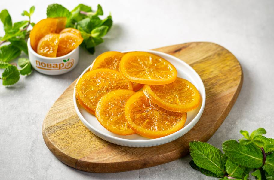 Цукаты из апельсинов