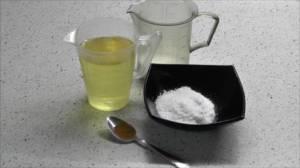 Подготовьте соль, масло, сахар, перец.