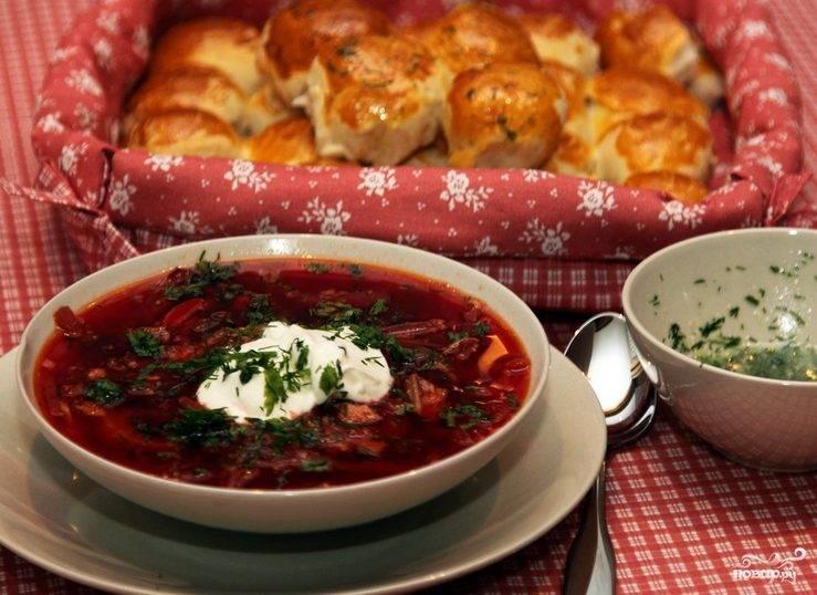 Борщ рецепт классический с мясом