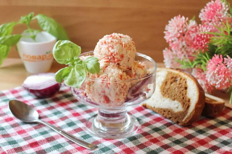 Мороженое из сельди