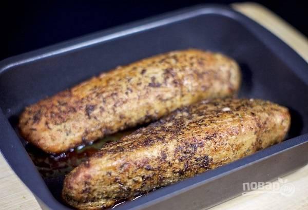 6. Запекайте до готовности от 30 до 60 минут (в зависимости от размера кусочка мяса) У меня ушло 45 минут на кусочки, как на фото.  Приятного аппетита!