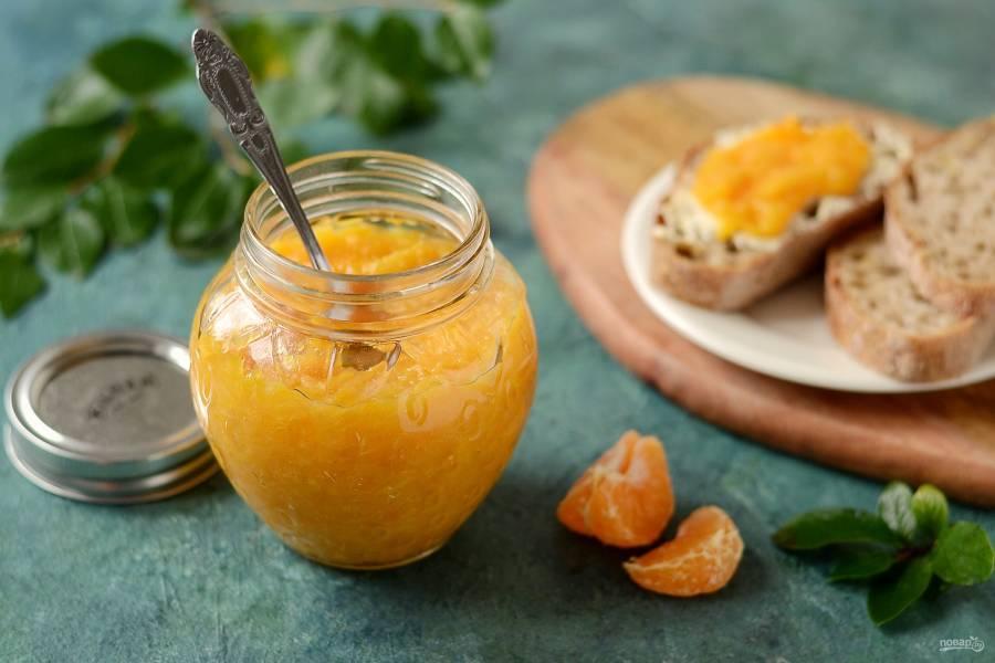 Варенье из апельсинов и мандаринов