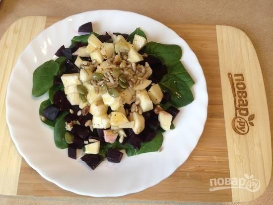6. Вкусный и полезный салат готов!