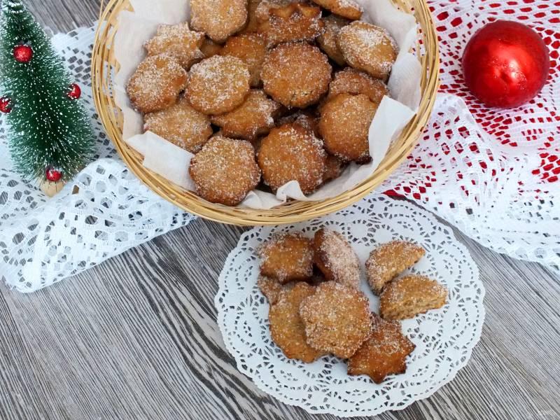Ржаное печенье с мёдом