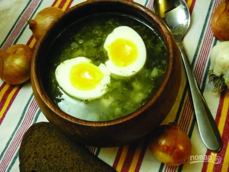 Щавелевый суп с мясом