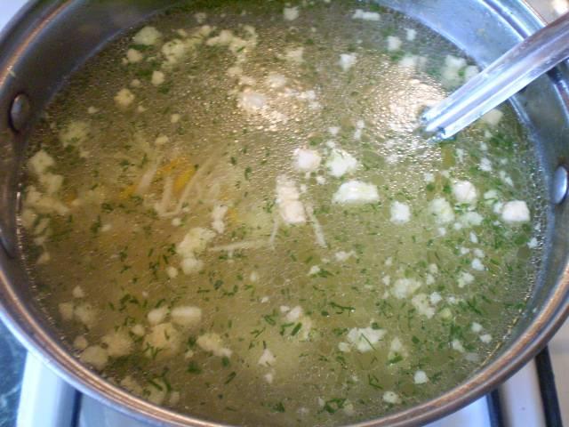 Суп готов! Приятного!