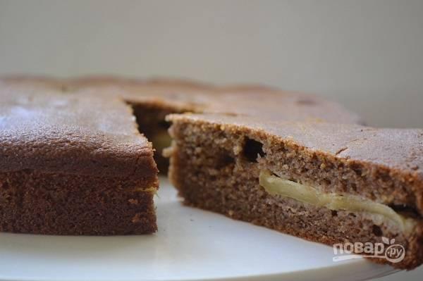 Пирог на банановой муке