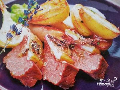 Говядина с картошкой в фольге