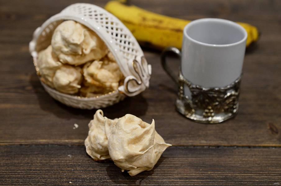 Банановое безе