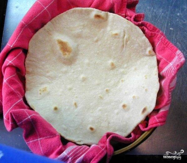 Мексиканская лепешка