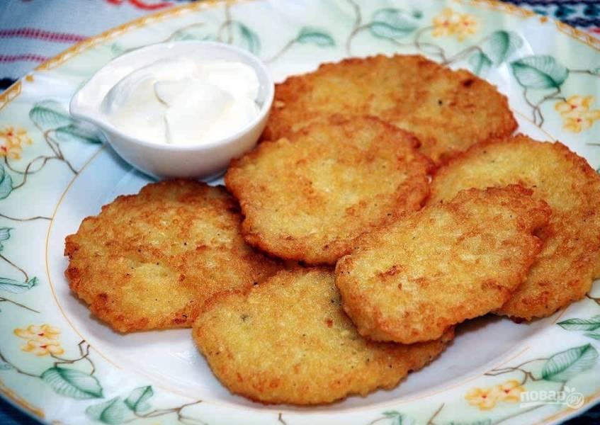 Драники картофельные по оригинальному рецепту