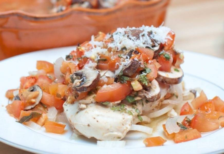 9.Подавайте блюдо горячим с пастой.