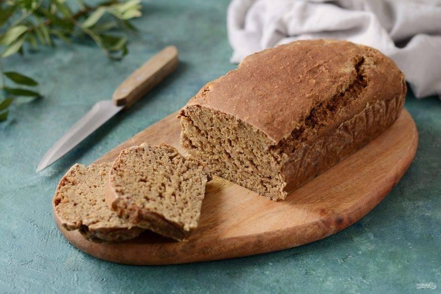 Исландский хлеб готов, приятного аппетита!