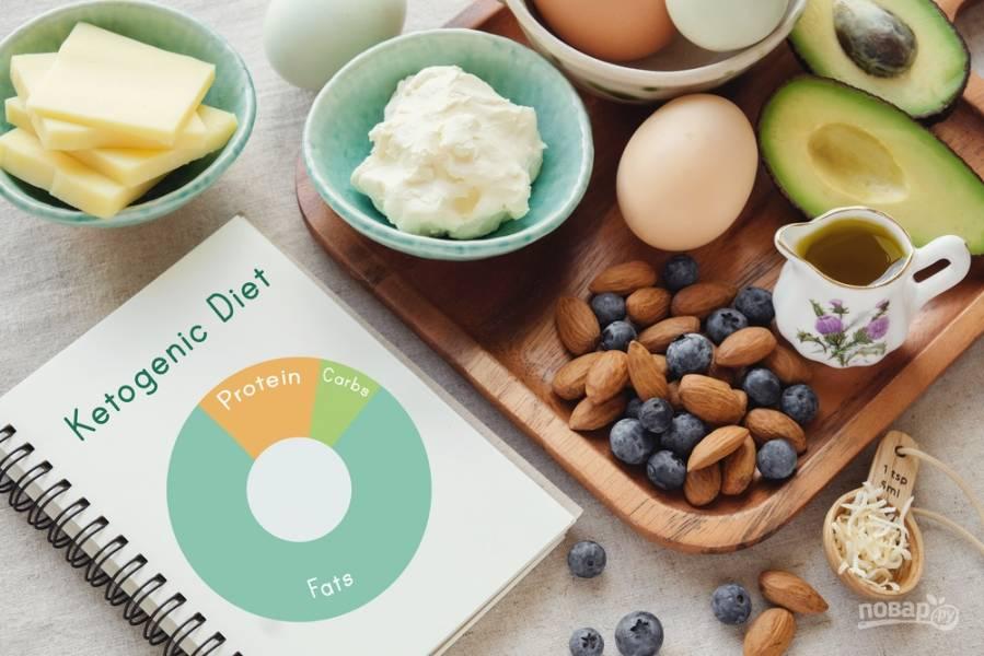 Кетогенная диета: ешь жир и худей!