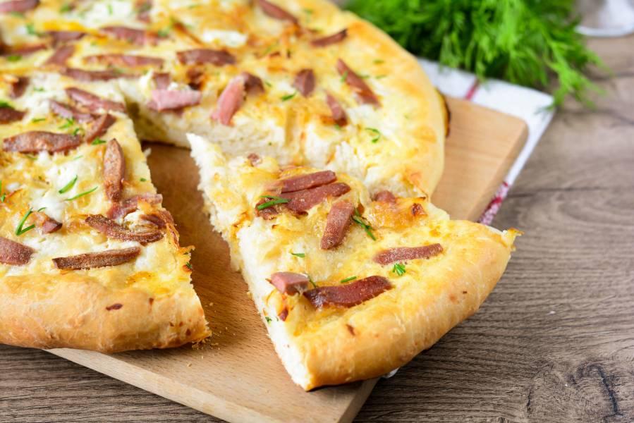 Пицца без томатной пасты