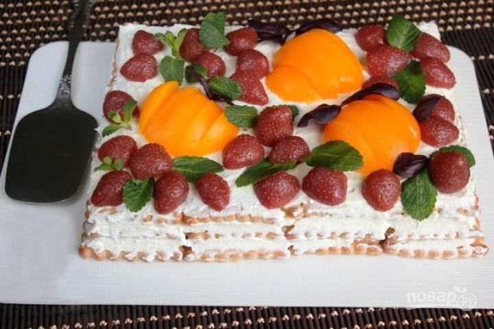 Быстрый творожный торт
