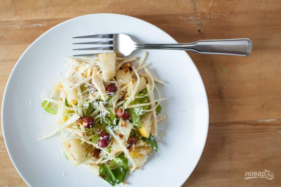 Салат из сельдерея корневого
