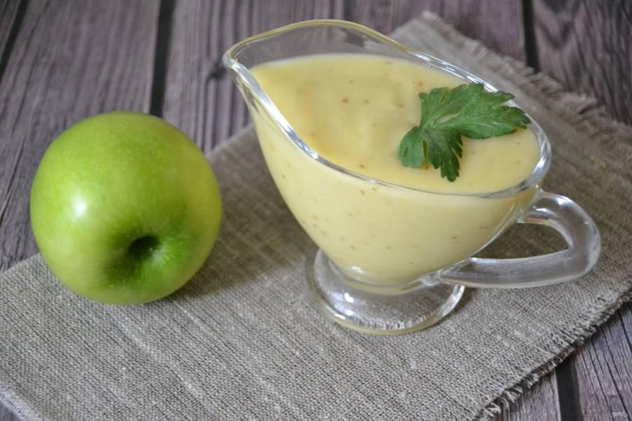 Майонез из яблок