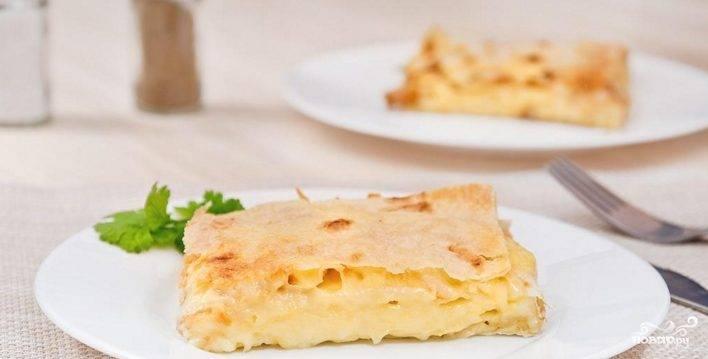 Пирог из армянского лаваша
