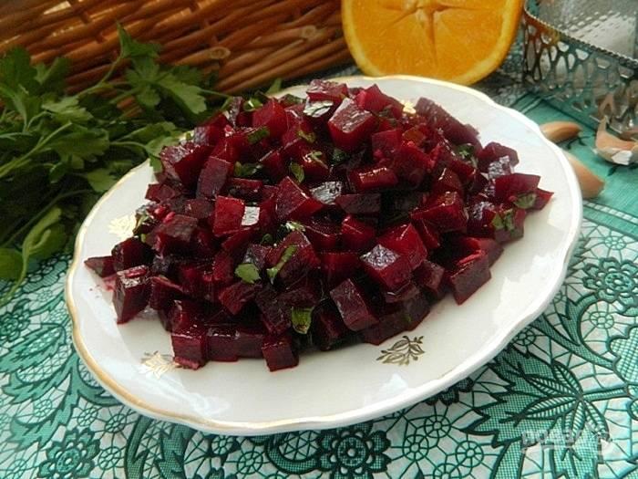 Итальянский свекольный салат