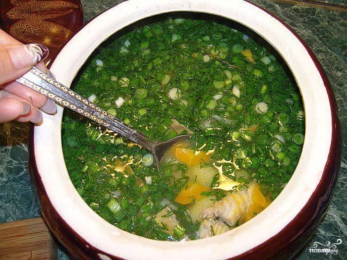 Суп из стерляди
