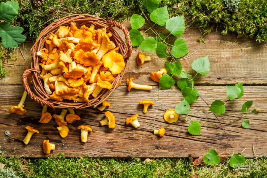 Простые блюда с лисичками: яичница, жареный картофель, соус и суп с грибами