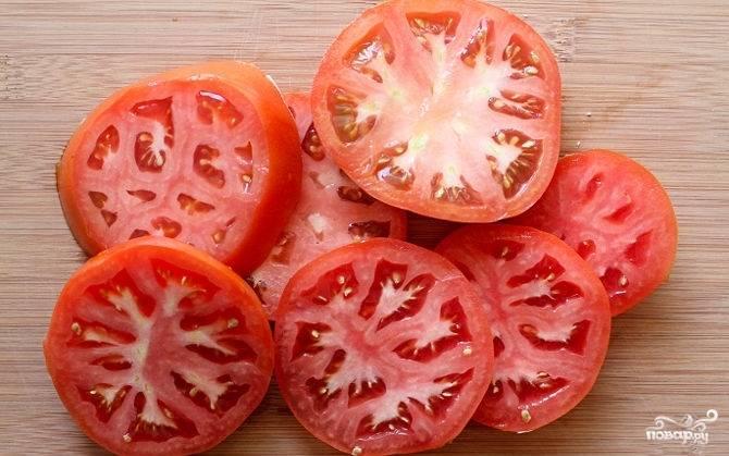 Тоже сделайте с помидорами.