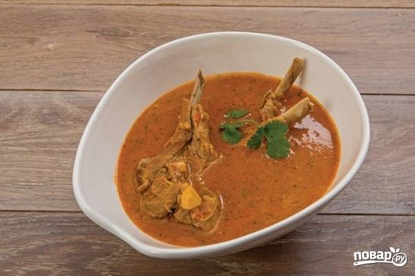 Суп харчо с бараниной