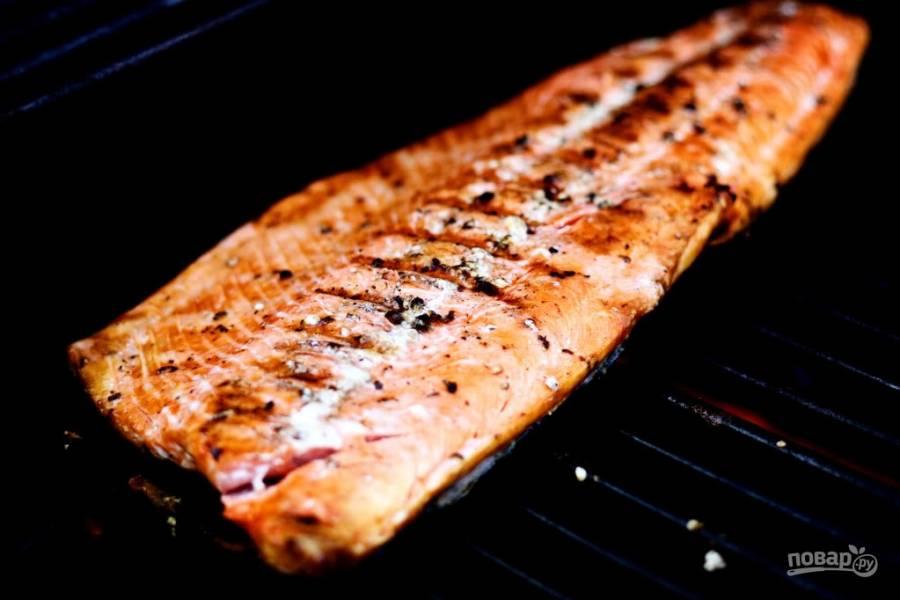 Рыба на барбекю (простой рецепт)
