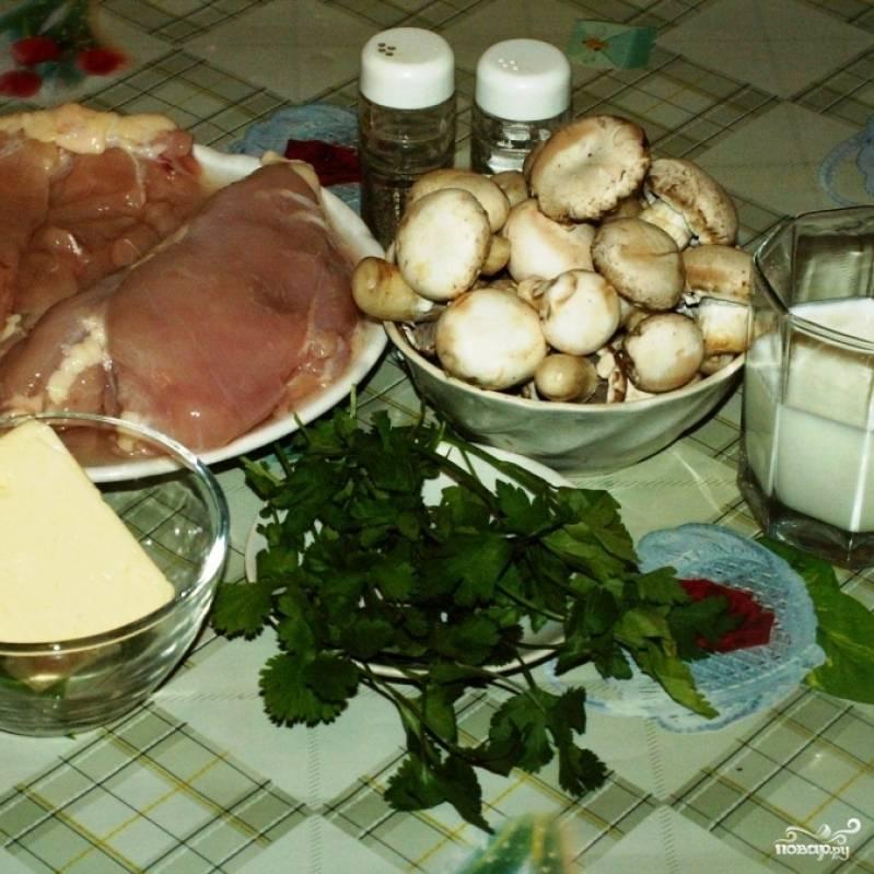 Собственно, вот ингредиенты, из которых мы будем готовить наше новогоднее блюдо.