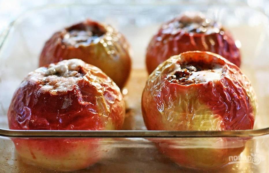 Рецепт запекания яблок в духовке