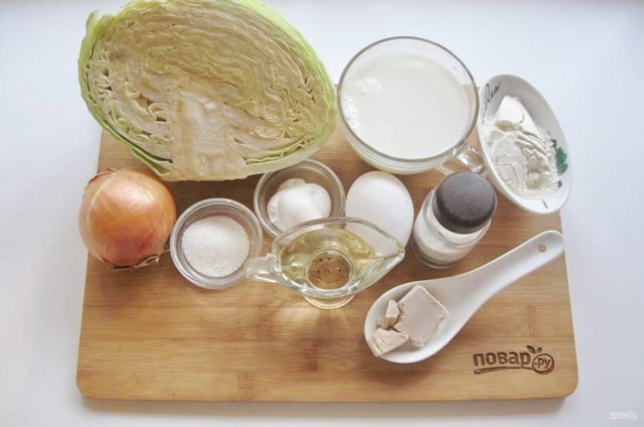 Подготовьте ингредиенты для приготовления бэккенов.