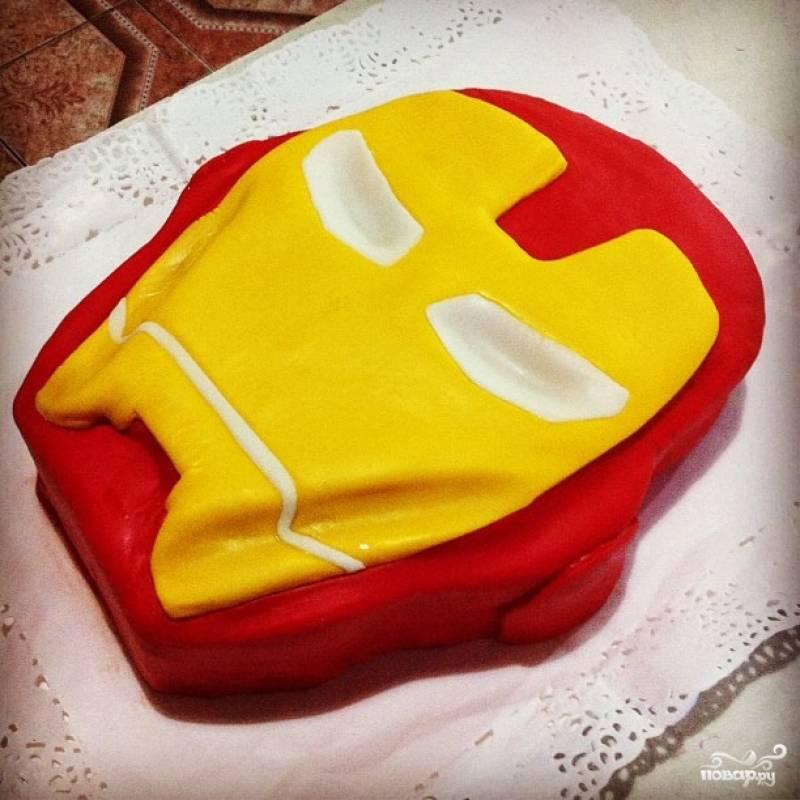 """Торт """"Железный человек"""""""