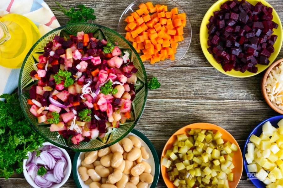 Новогодний винегрет: классические и новые рецепты (обязательное блюдо праздника!)