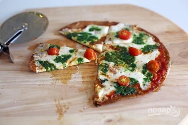 Простая и полезная пицца