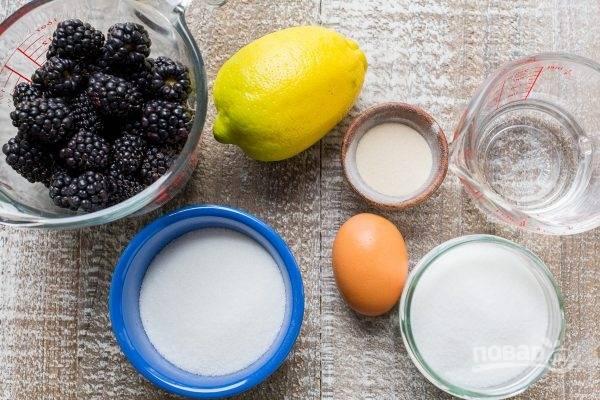 1. Подготовьте все ингредиенты для сиропа.