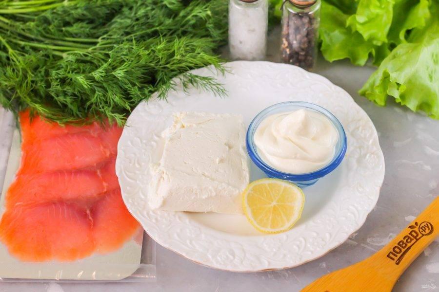 Подготовьте указанные ингредиенты. Творог и сметана могут быть любой жирности, но не кислые на вкус! По желанию их можно заменить маскарпоне.