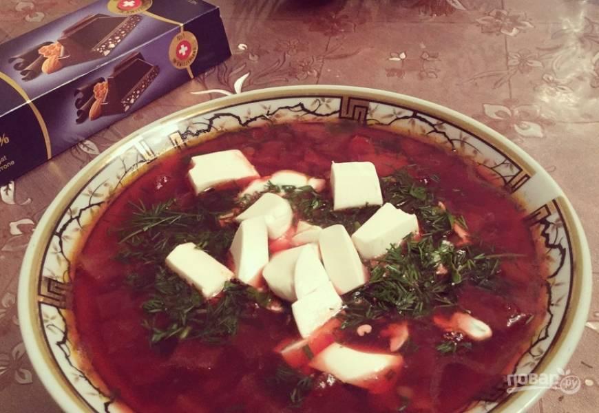 Суп из чечевицы от Юлии Высоцкой