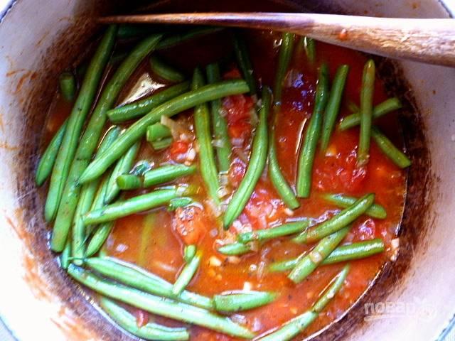 5. И выложите ее в томатный соус.