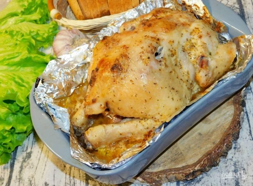 Курица в майонезном маринаде