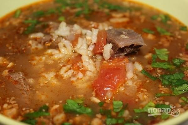 Харчо (грузинский суп)