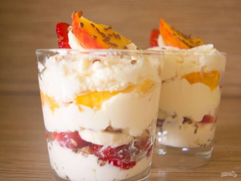 9. Вот такая вкуснотища у меня получилась. Такой диетический десерт для похудения получается великолепным!