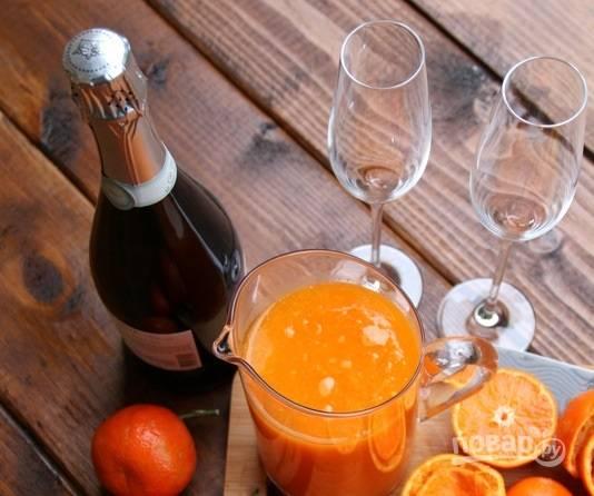3. И соедините его с любимым шампанским.