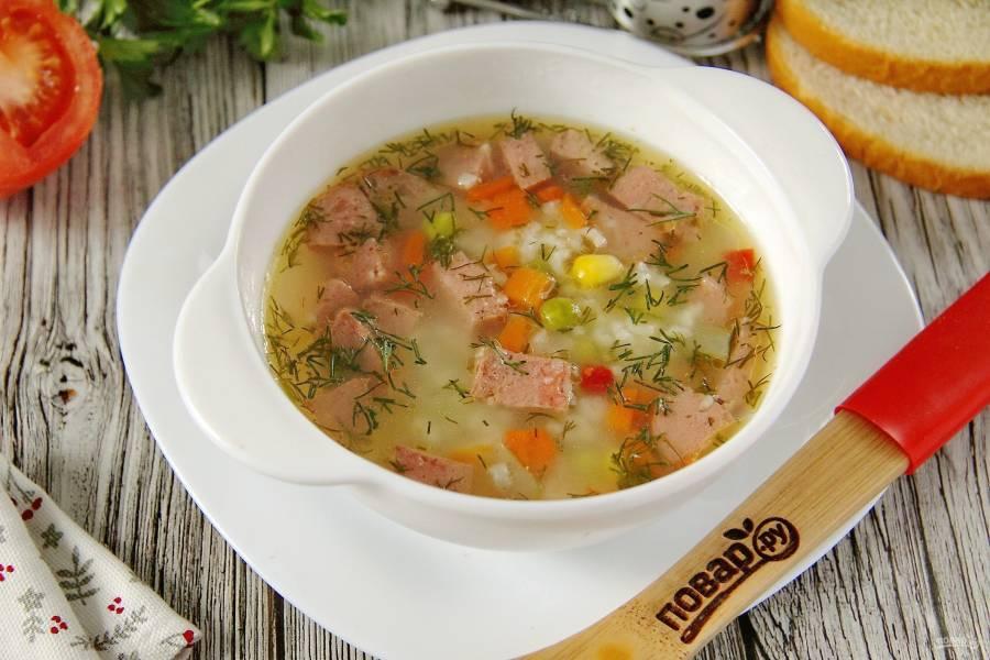 Какие бывают супы рецепты с фото простые