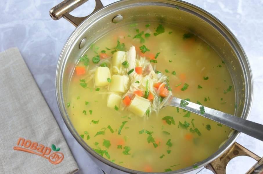 5. Суп готов!