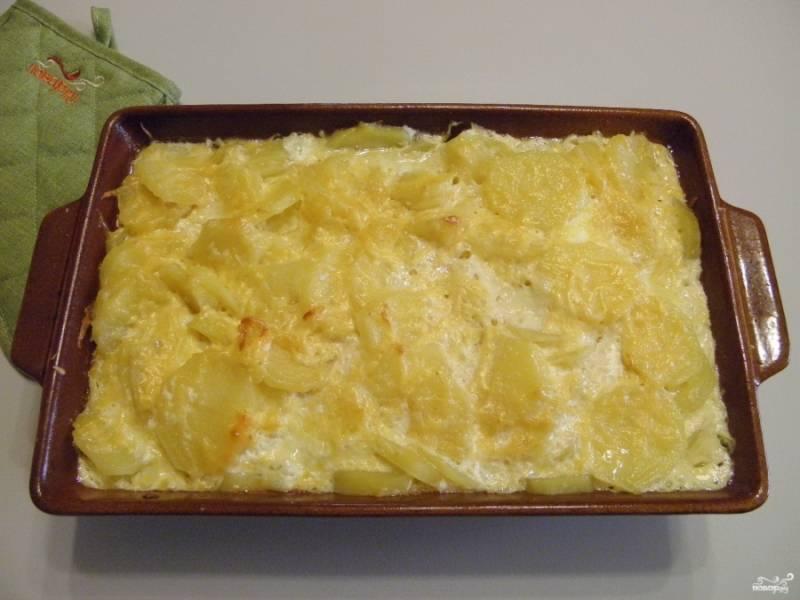 Картофель готов. Температуру и время регулируйте под свою духовку.
