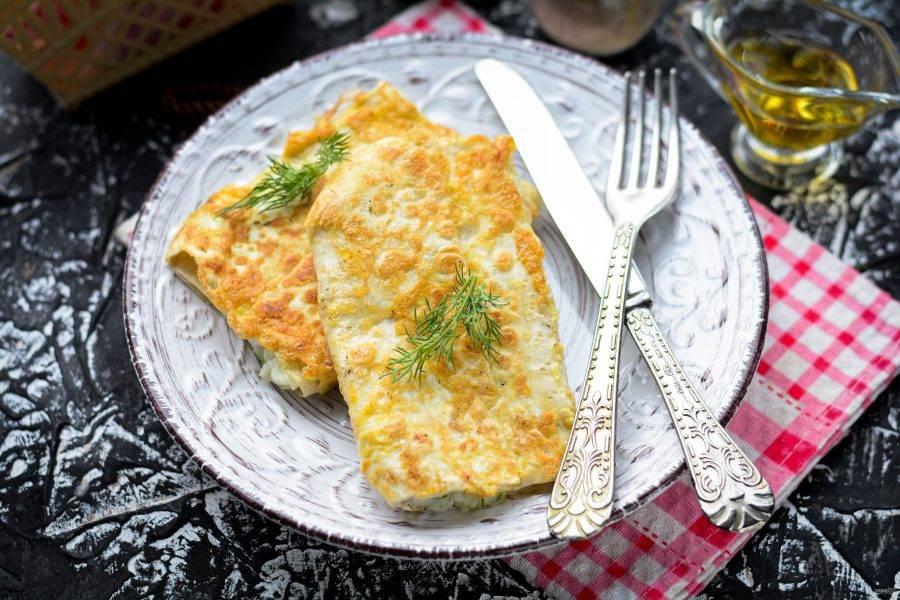 Готовые пирожки из лаваша с картошкой подавайте к столу. Приятного аппетита!