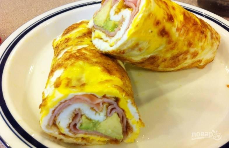 Быстрый завтрак на скорую руку
